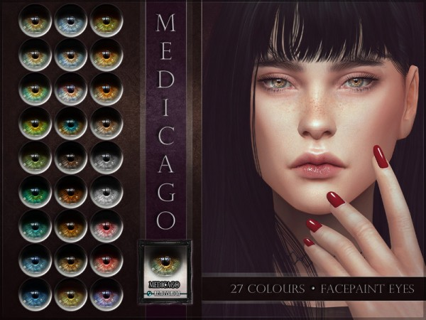 The Sims Resource: Medicago Eyes by RemusSirion