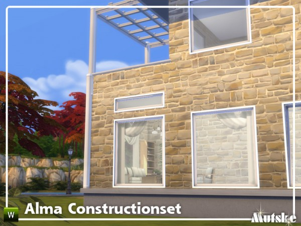 The Sims Resource: Alma Constructionset Part 5 by mutske