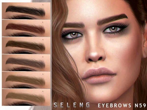 The Sims Resource: Eyebrows N59 by Seleng