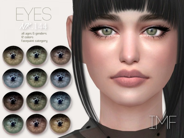 The Sims Resource: Eyes N.144 by IzzieMcFire