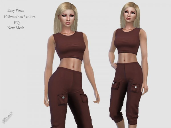 The Sims Resource: Easy Wear by pizazz