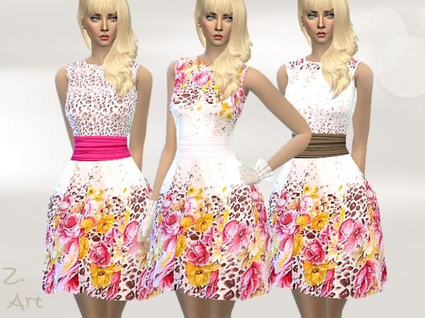 The Sims Resource: VintageZ. Dress 16 by Zuckerschnute20