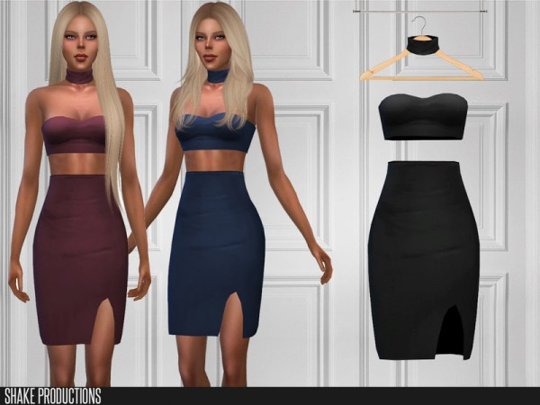 The Sims Resource: 422 Dress by  ShakeProductions