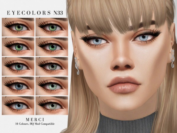 The Sims Resource: Eyecolors N33 by Merci
