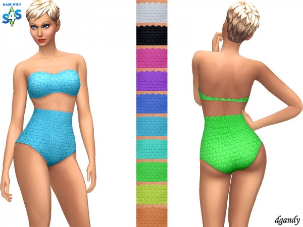 The Sims Resource: Swimsuit 20200413 by dgandy