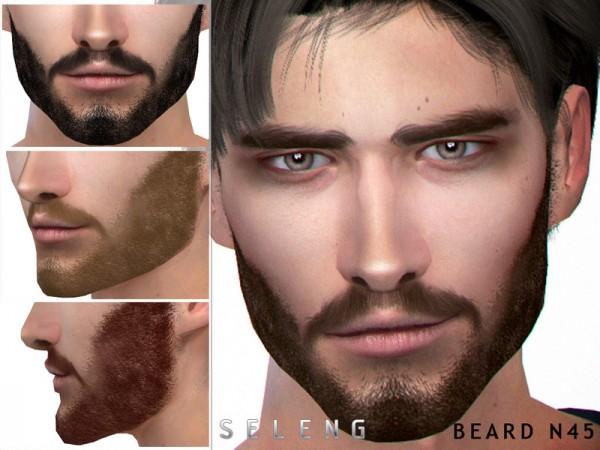 The Sims Resource: Beard N45 by Seleng
