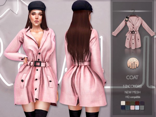 The Sims Resource: Coat BD216 by busra tr