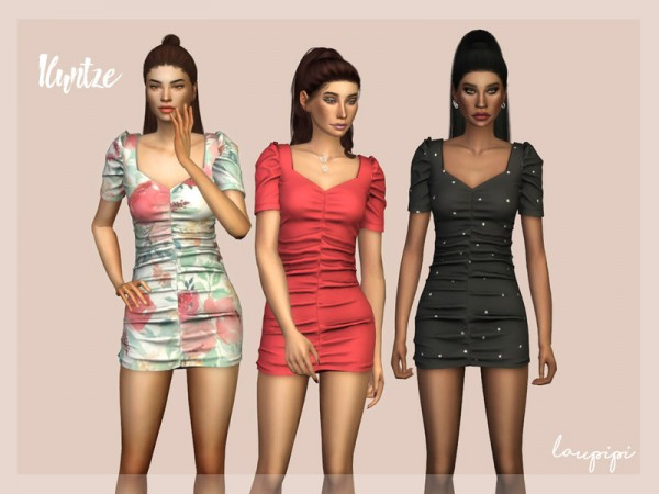 The Sims Resource: Iluntze Dress by Laupipi
