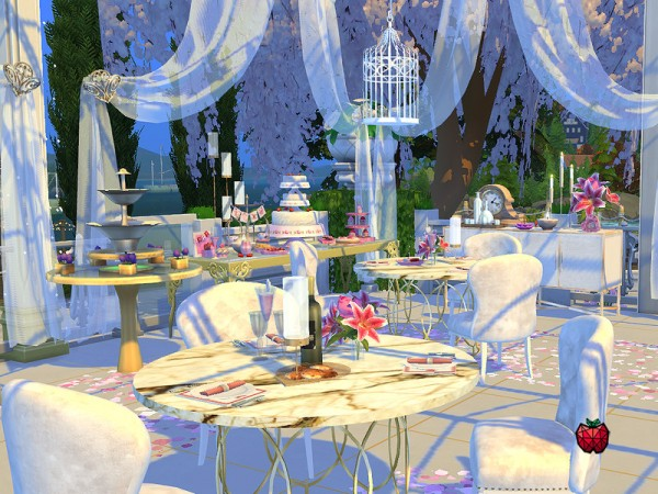 The Sims Resource: Paloma   wedding venue by melapples