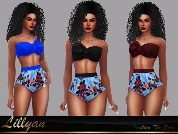 The Sims Resource: Swimsuit Bruna by LYLLYAN