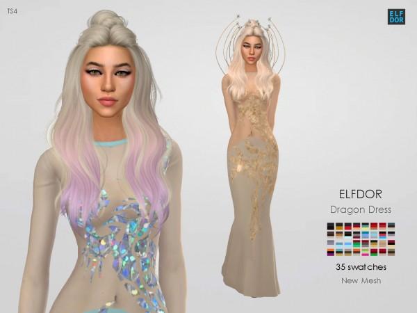 Elfdor: Dragon dress