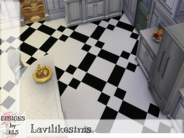 The Sims Resource: Check, check floors by lavilikesims