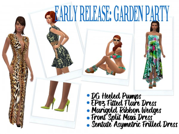 Sims 4 Sue: Garden Party