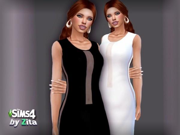 The Sims Resource: Urban Class Dress by ZitaRossouw