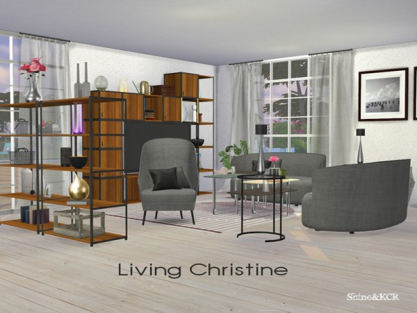 The Sims Resource: Living Christine by ShinoKCR