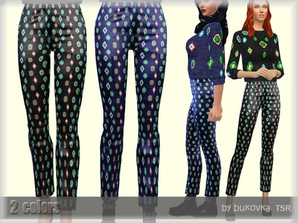 The Sims Resource: Pants Female by bukovka