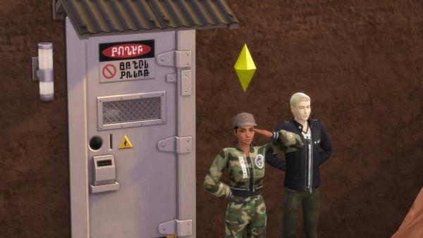 Mod The Sims: Paramilitary Career by killmewithbleach
