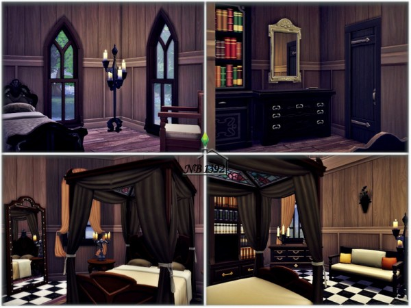 The Sims Resource: Ophelia Castle (No CC!) by nobody1392