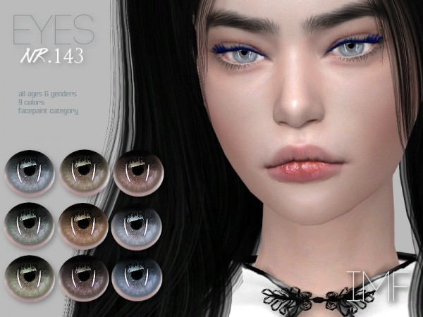 The Sims Resource: Eyes N.143 by IzzieMcFire