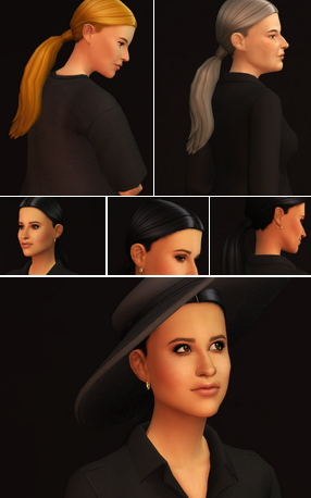 Rusty Nail: Ponytail Hairstyle