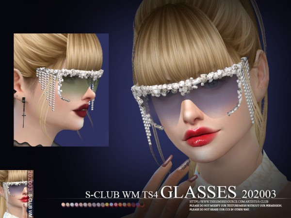 The Sims Resource: Glasses 202003 by S Club