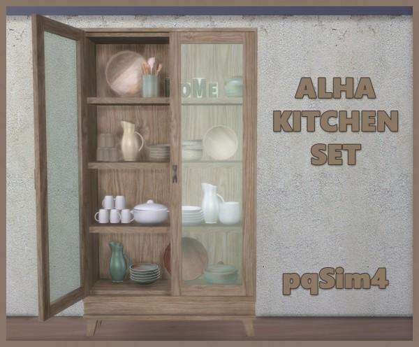 PQSims4: Alha Kitchen Set