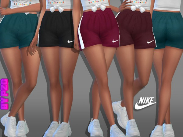 The Sims Resource: Athletic Shorts 981980 by Pinkzombiecupcakes