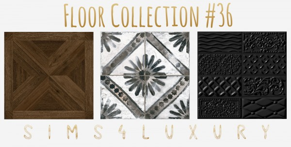Sims4Luxury: Floor Collection 36