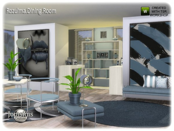 The Sims Resource: Rozulma Diningroom by jomsims