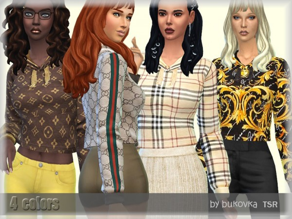 The Sims Resource: Hoody Female by bukovka