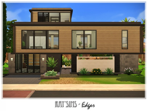 The Sims Resource: Edgar House by Ray Sims