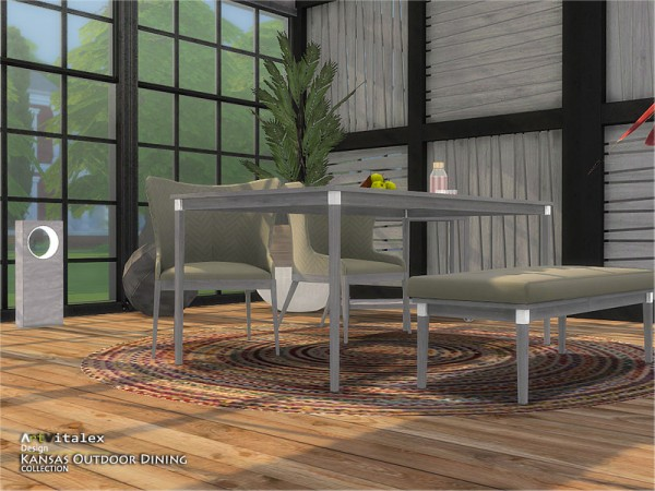 The Sims Resource: Kansas Outdoor Dining by ArtVitalex
