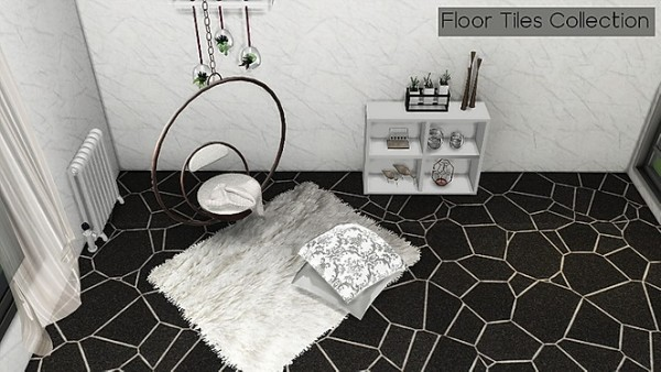 Blooming Rosy: Floor Tile Collection
