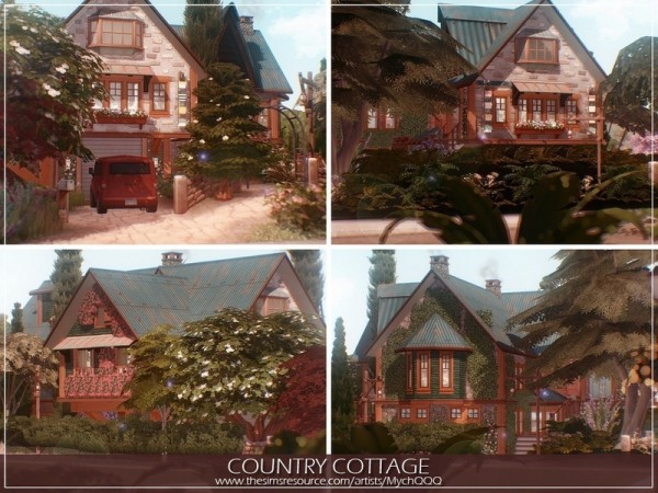 The Sims Resource: Country Cottage by MychQQQ