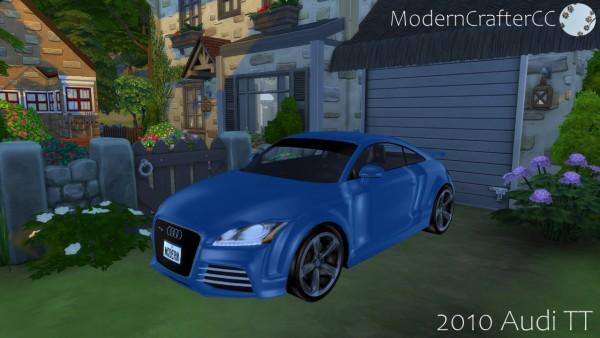 Modern Crafter: 2010 Audi TT