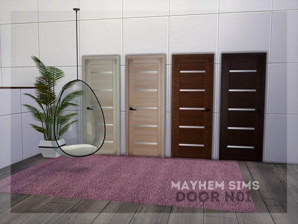 The Sims Resource: Door N01 by mayhem sims