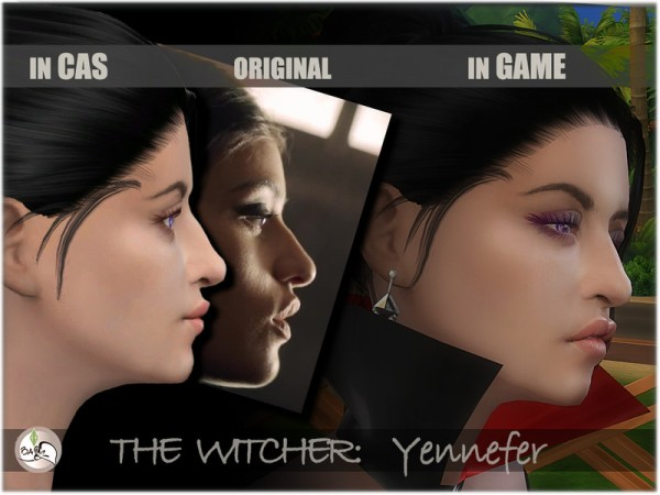 The Sims Resource: The Witcher   Yennefer of Vengerberg by BAkalia