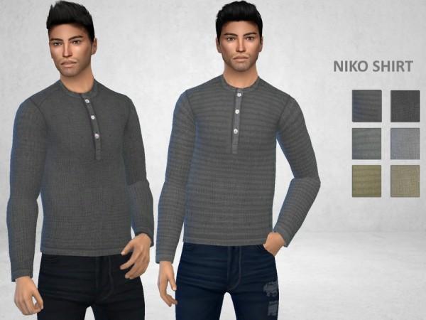 The Sims Resource: Niko Shirt by Puresim