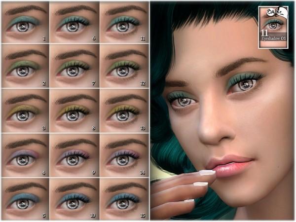 The Sims Resource: Eyeshadow 01 by BAkalia