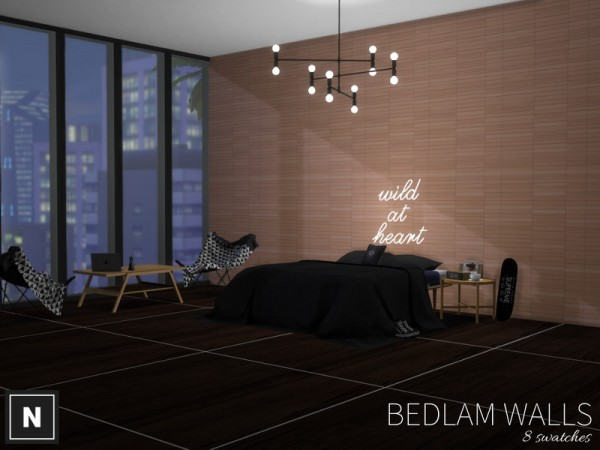 The Sims Resource: Bedlam   walls by networksims
