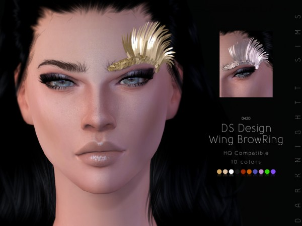 The Sims Resource: Design Wing Brow Ring by DarkNighTt