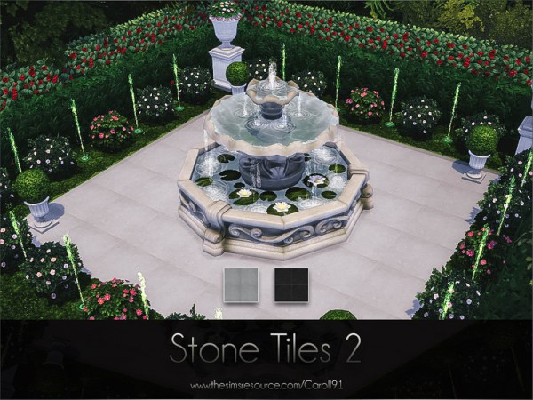 The Sims Resource: Stone Tiles 2 by Caroll91