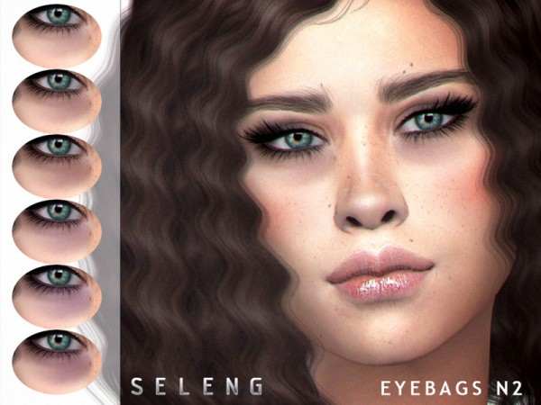 The Sims Resource: Eyebags N2 by Seleng