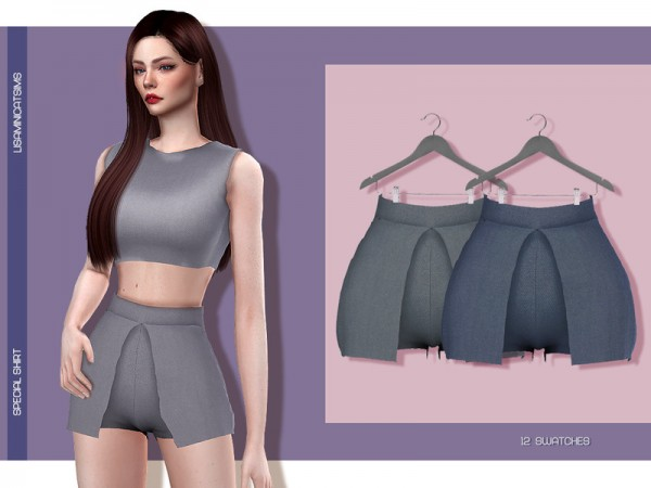 The Sims Resource: Special Skirt by Lisaminicatsims