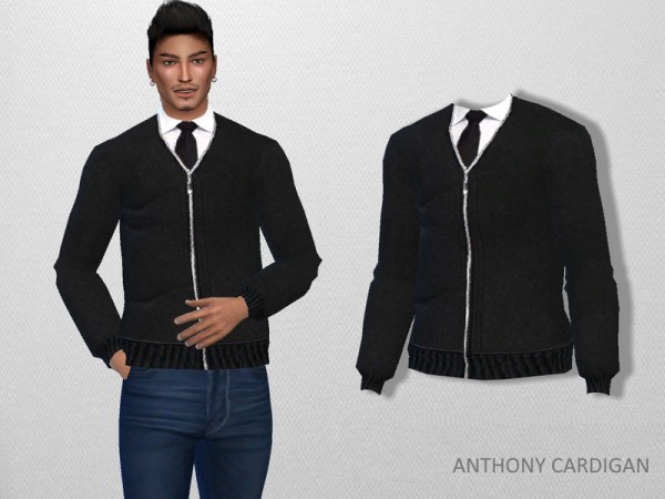 The Sims Resource: Anthony Cardigan by Puresim