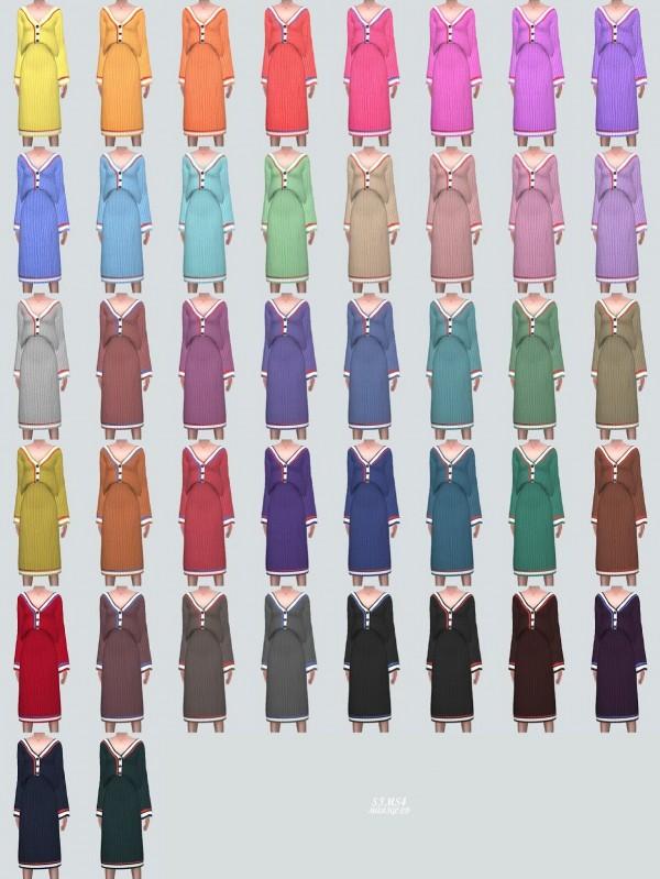 SIMS4 Marigold: 333 Cardigan Set
