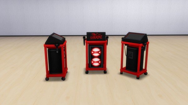 Mod The Sims: Karaoke devices by hippy70