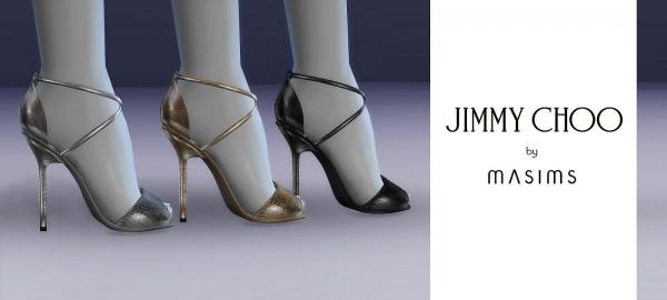 MA$ims 3: Emsy Metallic Sandals