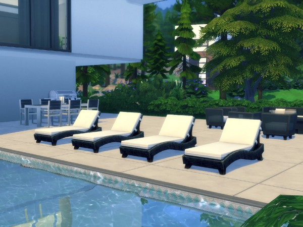 The Sims Resource: Modern Vacation Home by Summerr Plays