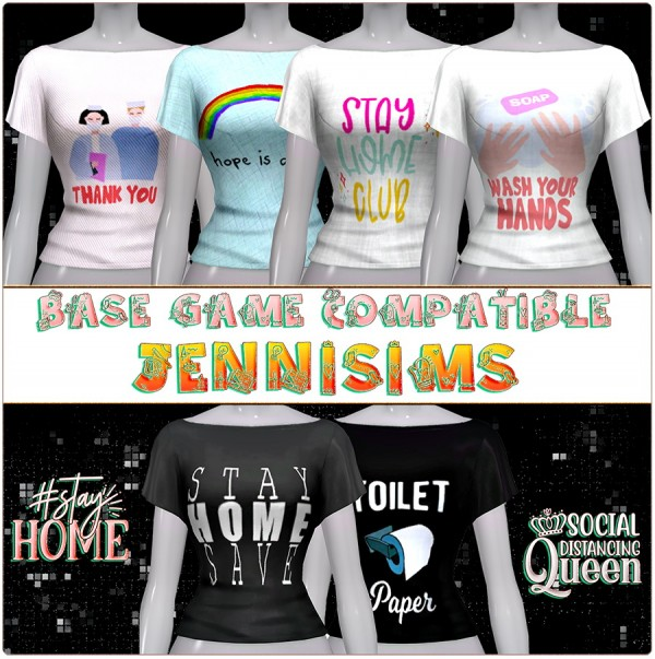 Jenni Sims: Stay Home Top